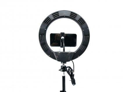 """10"""" 10W kruhové ring light LED světlo na líčení, instagram videa, focení"""