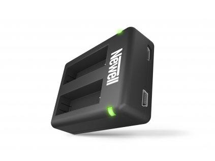 USB-DC duální nabíječka AHDBT-401 baterií pro GoPro HERO 4