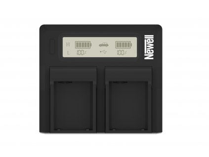 Duální LCD nabíječka pro Sony NP-FM50/F960/F970 baterie