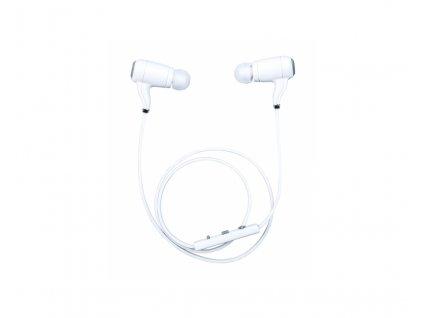 Sluchátka Beatman S610 Bluetooth bílé