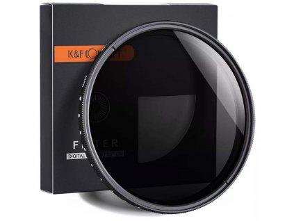 KF Concept variabilní ND filtr 2-400 (62mm)