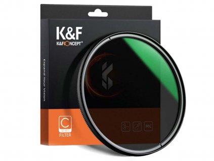 KF Concept Slim MC CPL filtr (58mm)
