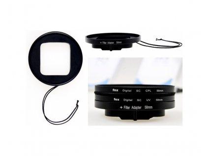 Filtr Adaptér POWERBEE FA58 pro GoPro HERO3 58mm