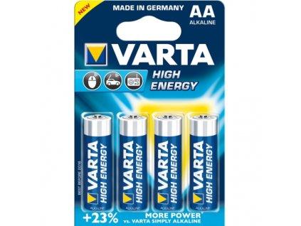 Varta tužkové AA baterie (4ks)