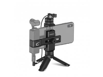 Comica Audio CVM-MT-K1 mikrofon + držák pro mobil pro Osmo Pocket