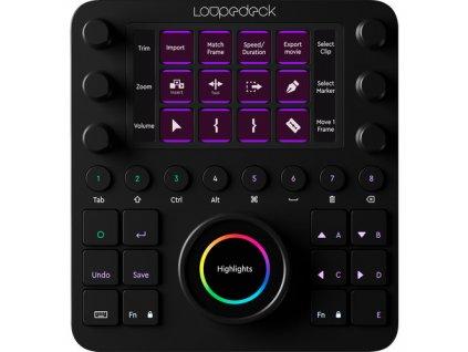 Loupedeck CT konzole pro úpravu fotek a videa (Adobe Lightroom, Premiere Pro, Final Cut PRO X)