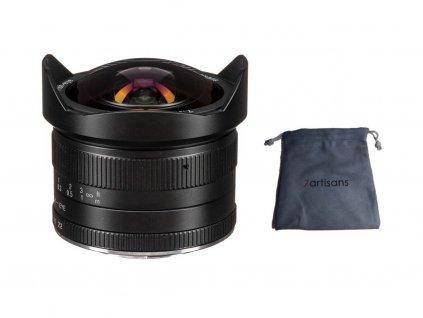 "7Artisans 7,5mm f/2,8 ""Rybí oko"" APS-C objektiv (Fuji FX)"