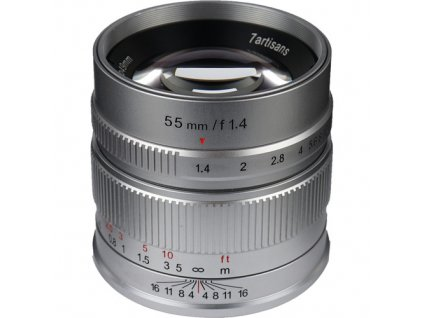 7Artisans 55mm f/1,4 APS-C objektiv (Micro 4/3)