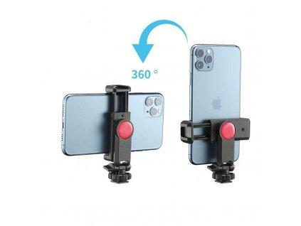 Otočný držák pro smartphony s nastavitelným úhlem