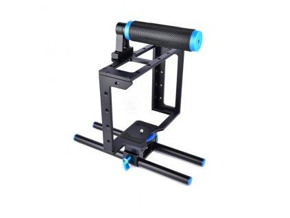 DSLR Rig Camera Cage Kit Shoulder Stabilizer System Video Support Rig For Canon 5D Mark III.jpg 640x640