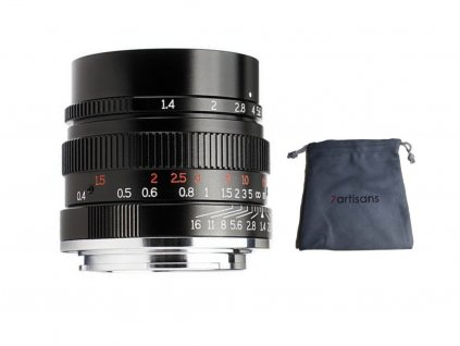 7Artisans 35mm f/1,4 full frame objektiv (Nikon Z)