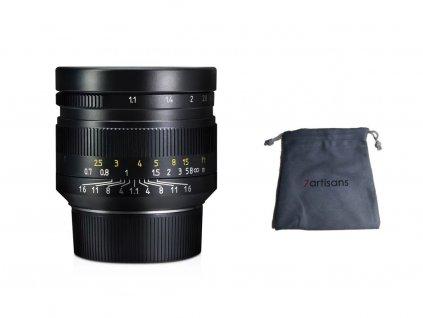 7Artisans 50mm f/1,1 Full frame objektiv (Leica M)