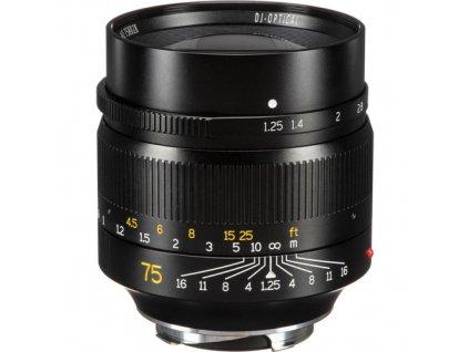 7Artisans 75mm f/1,25 Full frame objektiv (Leica M)