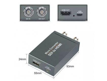 HDMI SDI konvertor
