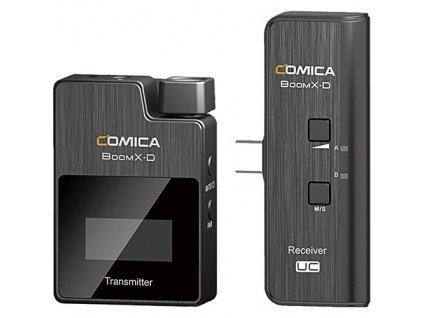 Comica BoomX-D UC1 - bezdrátový mikrofon na mobil, rozhovory, podcast