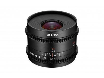 Laowa 7,5mm T2.1 Zero-D Cine verze pro Micro 4/3