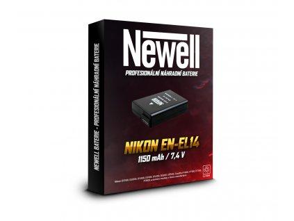 Baterie EN-EL14 pro Nikon