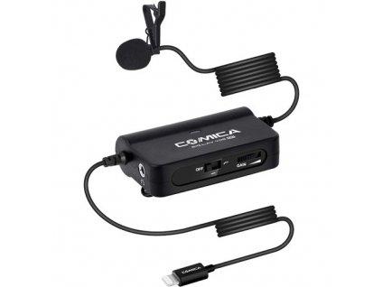 Comica CVM-SIG.LAV V05 klopový mikrofon se zesilovačem (5m) s Lightning koncovkou pro Apple - iPhone