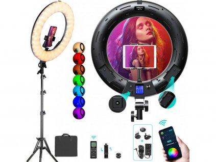 RGB svetlo film technika