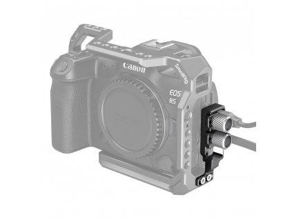 SmallRig HDMI & USB-C svorka pro Canon EOS R5 & R6 klec 2981