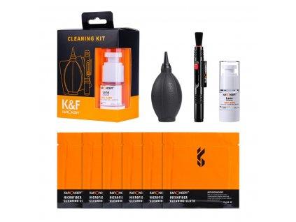 K&F Concept čistící sada pro objektivy i displeje 4v1