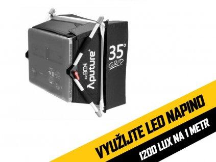 Softbox Aputure EZ BOX + Grid pro LED světla Amaran 528 a 672