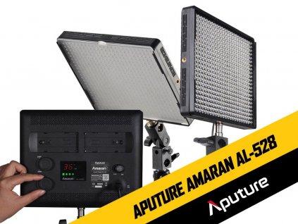 Kamerové LED světlo Aputure Amaran AL-528S (rozbalené, nové)