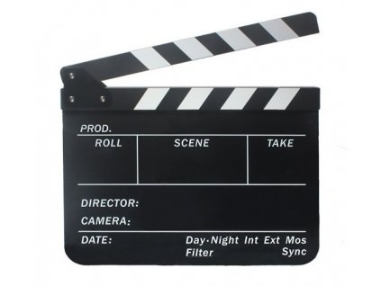 Filmová klapka CBP-FCBII (černá)