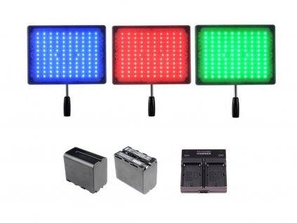 Yongnuo YN600 kamerové LED světlo (RGB)
