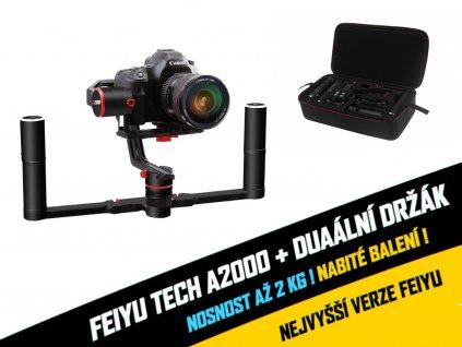 Feiyu tech A2000 + duální držák (nově s kufříkem)