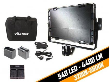Viltrox Bi-color LED světlo VL-40T (3300-5600K)-KIT