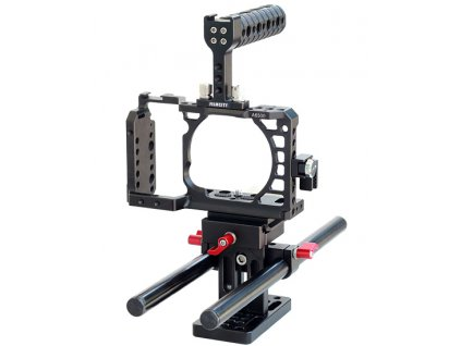 Filmcity Camera Cage for Sony Alpha A6500 ILCE 6500 4K Digital Mirrorless Camera 1