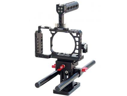 Filmcity Camera Cage for Sony Alpha A6500 ILCE 6500 4K Digital Mirrorless Camera 1