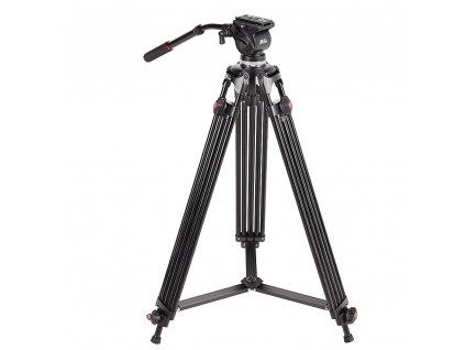 JIEYANG JY0508B JY 0508B 6KG height 185cm Professional Video Tripod Aluminum Dslr VIDEO Tripod Fluid Head