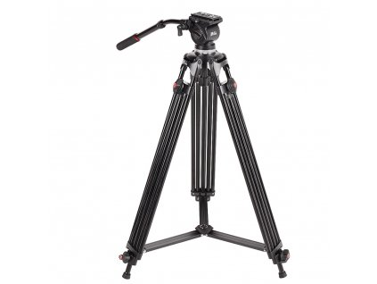 JIEYANG JY0508B JY 0508B 6KG height 185cm Professional Video Tripod Aluminum Dslr VIDEO Tripod Fluid Head