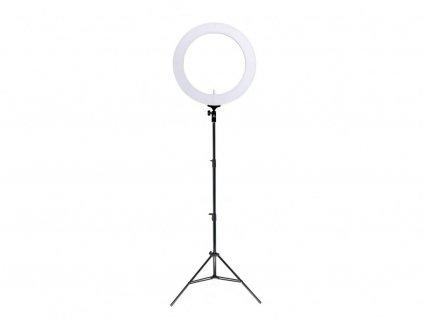 """19"""" 80W (vyšší výkon) kruhové ring light LED světlo na líčení i tetování + stativ"""