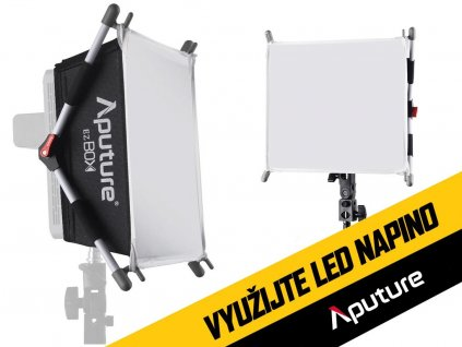 Softbox Aputure EZ BOX pro LED světla Amaran 528 a 672