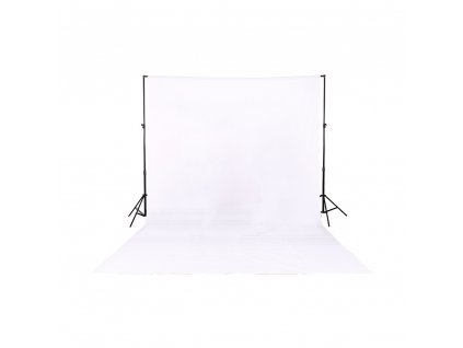 Fotografické plátno 100% bavlna 3x4m (bílé) foto pozadí