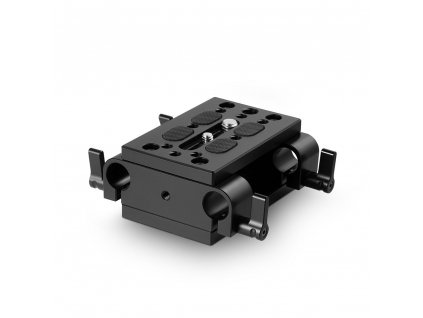 SmallRig Baseplate with Dual 15mm Rod Clamp 1798 53256.1516261485