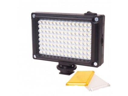 Ulanzi 112 LED Dimmerabile Luce Video Ricaricabile Panal Luce Bianco e Luce Calda per la Macchina (2)