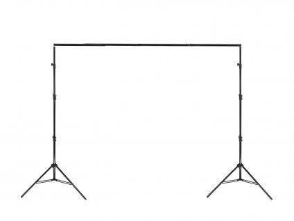 Pevnější konstrukce pro upevnění fotopozadí (3x2,8m)