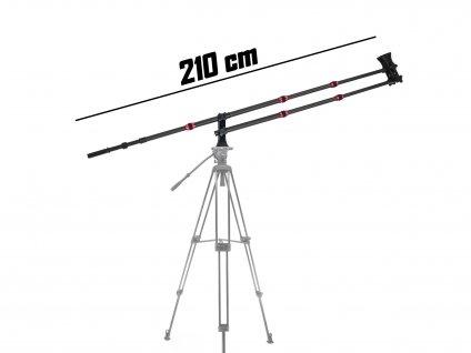 Kamerový jib, kamerový jeřáb 210 cm
