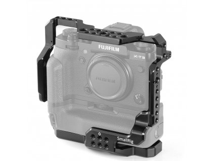 SmallRig Cage for Fujifilm X T3 Camera with Battery Grip 2229 1 04179.1536664117