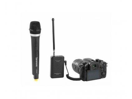 Saramonic SR-WM4CA bezdrátový ruční mikrofon s SR-HM4C přijímačem