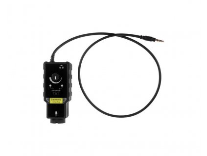 Saramonic SmartRig II - fantomový adaptér XLR / Jack