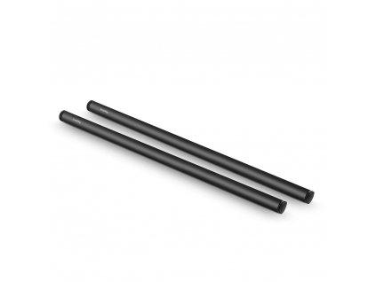 SmallRig 2pcs 15mm Black Aluminum Alloy RodM12 40cm 16inch 1054 49770.1516697347