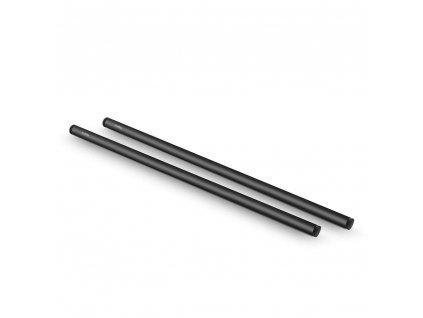 SmallRig 2pcs 15mm Black Aluminum Alloy RodM12 45cm 18inch 1055 82218.1516697437