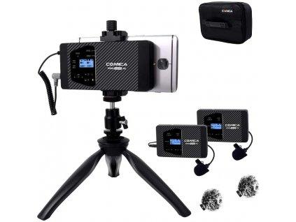 Comica Audio CVM-WS60 bezdrátový systém mikrofonů pro smartphony a kamery