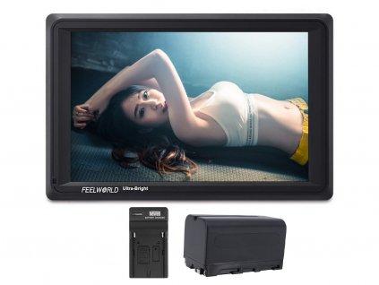 "Feelworld FW279S 7"" 2200nit 3G-SDI 4K HDMI náhledový monitor"