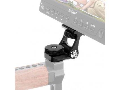 Universal Video Camera Monitor Mount for Feelworld F6S Bestview S7 S5 Adjustable 180 Rotation Mount Bracket (3)